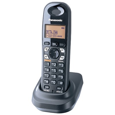 KX-TGA430B 5.8 GHz Digital Cordless Handset - OPEN BOX
