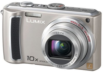 DMC-TZ4S - 8.1 Megapixel Digital Camera (Silver) w/ 2.5- inch LCD - OPEN BOX