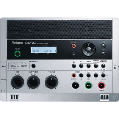 CD-2i CD/SD Battery Powered Recorder