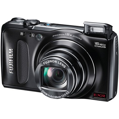 FinePix F500EXR 16 MP CMOS Digital Camera w/ 15x Super Wide Angle Zoom Lens