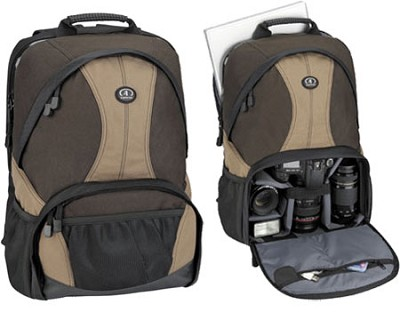 3380 Aero 80 Photo/Laptop Backpack (Brown/Tan)