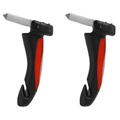 2-Pack - Car Cane Portable Car Handle with LED Lights