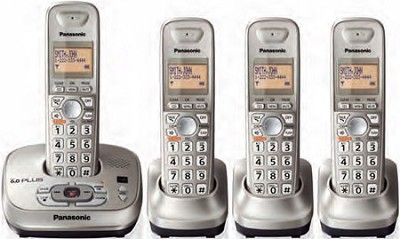 KX-TG4024N DECT 6.0 Expandable Digital Cordless Answering System
