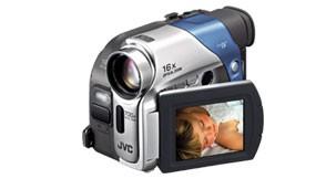 GR-D33US Refurbished MiniDV Camcorder with 2.5` LCD