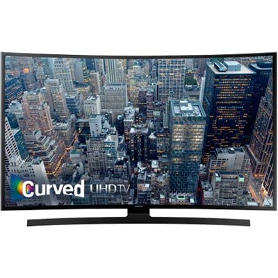 UN55JU6700 - 55-Inch Curved 4K Ultra HD Smart LED HDTV - OPEN BOX