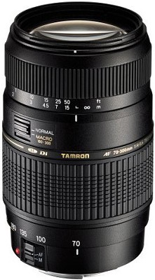70-300mm f/4-5.6 DI LD Macro f/ Nikon AF w/ Built-in Motor - REFURBISHED