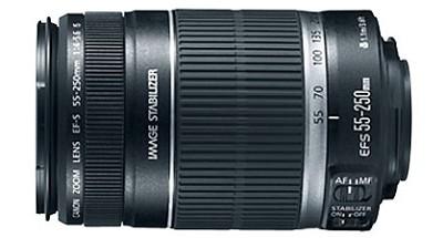 EF-S 55-250mm f/4-5.6 IS