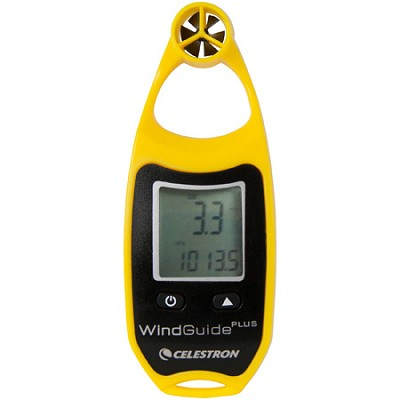 WindGuide Plus Anemometer - Yellow