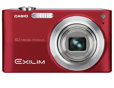 Exilim EX-Z200 10.1MP Digital Camera with 2.7` LCD (Red) - OPEN BOX