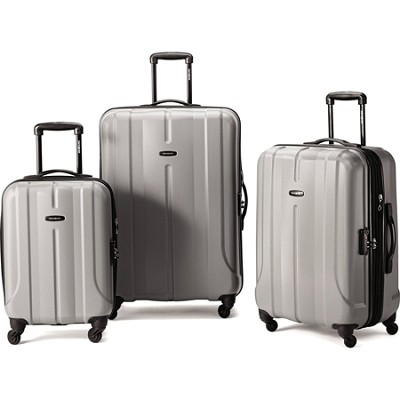 Fiero HS 3 Piece Luggage Nested Set - Charcoal