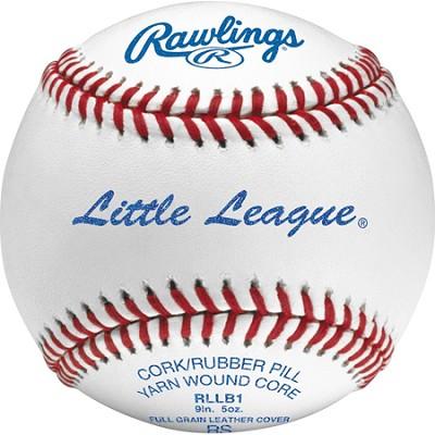 RLLB1 Little League Competition Grade Baseballs (One Dozen)