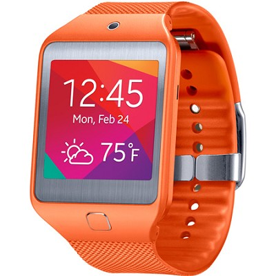 Gear 2 Neo Dust and Water Resistant Orange Watch - OPEN BOX