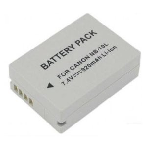 NB-10L 1300mAh Replacement Li-ion Battery For PowerShot SX40,SX50 HS & G1X