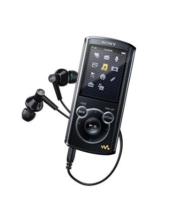 NWZ-E465 16 GB Walkman MP3 Player (Black) - OPEN BOX