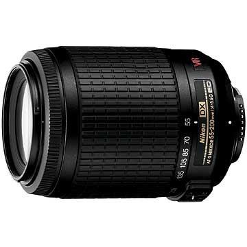 55-200mm f/4.5-5.6G ED AF-S VR DX Zoom-Nikkor, (IMPORTED)
