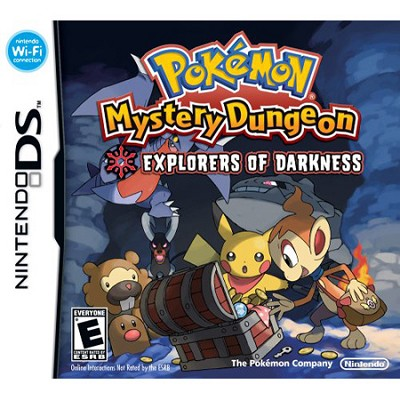 DS Pokemon Mystery Dungeon: Explorers of Darkness