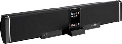 2.1-Channel Speaker Bar with iPod Dock (Black)