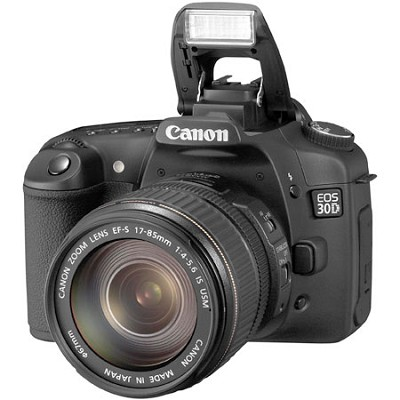 EOS 30D SLR Camera and EF-S 17-85mm IS Kit with USA Warranty!