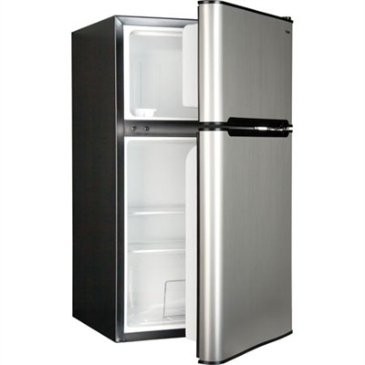 3.3 Cu. Ft. Compact Refrigerator/Freezer - HNDE03VS