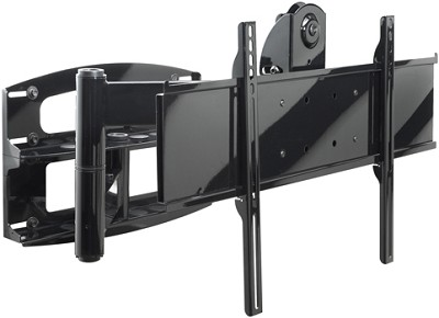 PLA-60 Articulating Swivel Wall Mount (Black) w/ screen adapter plate - OPEN BOX