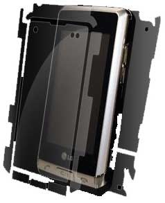 invisibleSHIELD for the LG Dare Full Body