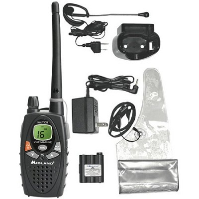 Nautico 1 88-Channel Water-Resistant VHF Marine Two-Way Radio (NT1VP)