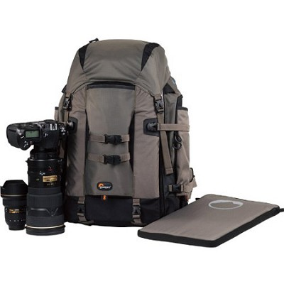 LP-36118-PEU - Pro Trekker 400 AW Camera Backpack (Mica/Black)