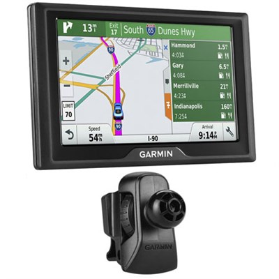 Drive 50LMT GPS Navigator (US Only) - 010-01532-0B w/ Garmin Air Vent Mount