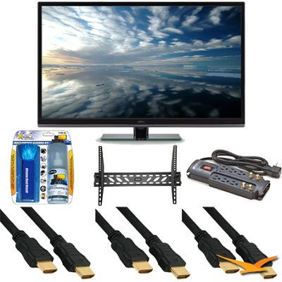 SE39UY04 39 Inch LED 4K 120hz Ultra HDTV With Mount Bundle