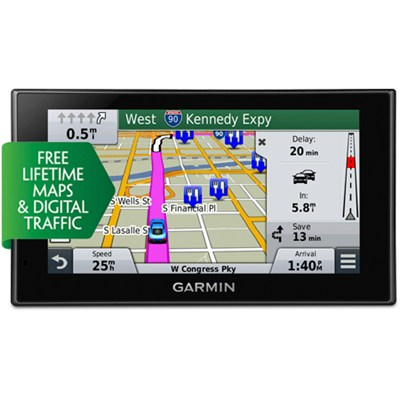 nuvi 2699LMT HD 6'' GPS  Lifetime Maps & HD Traffic -  Refurb w/ 1 Year Warranty