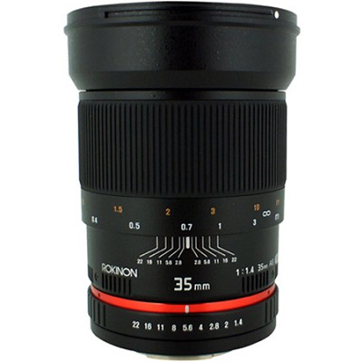 35mm f/1.4 Wide-Angle US UMC Aspherical Lens for Canon