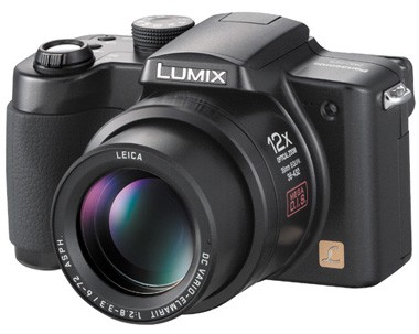 Lumix DMC-FZ5K Digital Camera (Black)