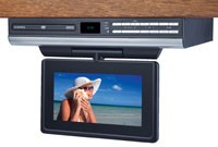 7` LCD Drop Down TV with Built-In DVD