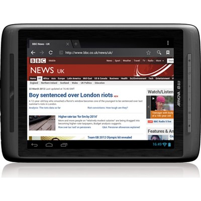Arnova 8 G3 4GB 8` Internet Tablet w Android ICS 4.0, 1GHz Processor - OPEN BOX