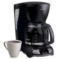 Mr. Coffee TFX23 Programmable 12-cup Coffee Maker, Black