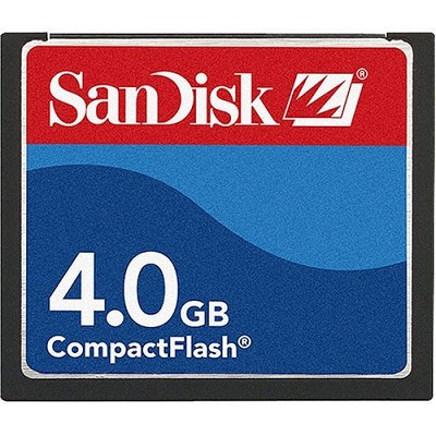 4 GB Compact Flash Memory Card