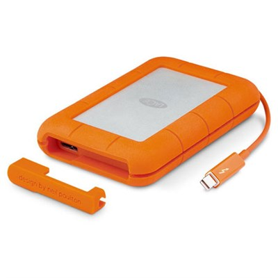 Rugged Thunderbolt USB 3.0 2TB External Hard Drive - LAC9000489 - OPEN BOX