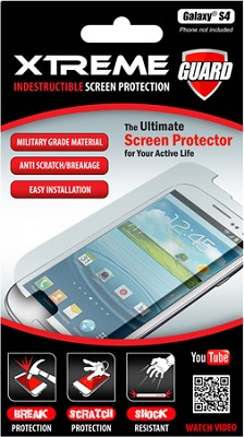 Indestructible Impact Proof Screen Protector for Samsung Galaxy S4