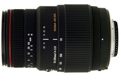 70-300mm F4-5.6 APO-M DG Macro Lens (Motorized) for Nikon AF