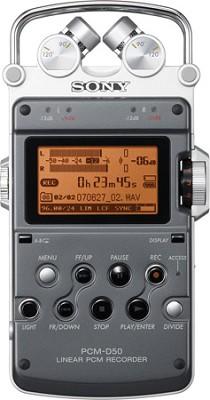 PCM-D50 Portable Linear PCM Recorder  **OPEN BOX**