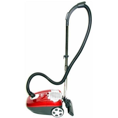 Canister HEPA Vacuum  Red