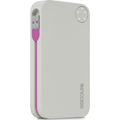 Portable Power 5400 USB Charger - Grey/Magenta