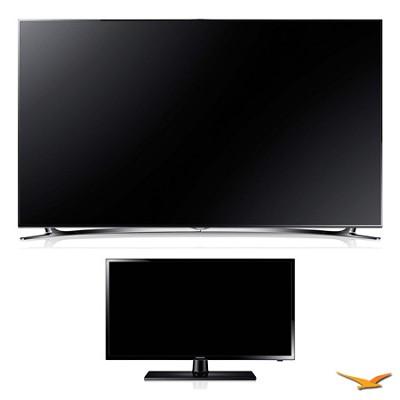UN46F8000 46` 1080p 240hz 3D Smart Wifi LED HDTV and 29` LED HDTV Bundle