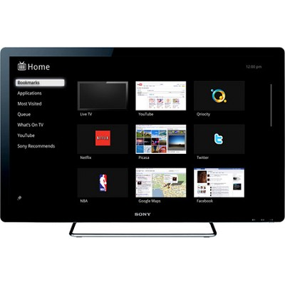 NSX-32GT1 32-Inch 1080p 60 Hz LED HDTV Featuring Google TV - OPEN BOX