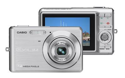 EXILIM EX-Z77 - 7.2MP Digital Zoom Camera (Silver)