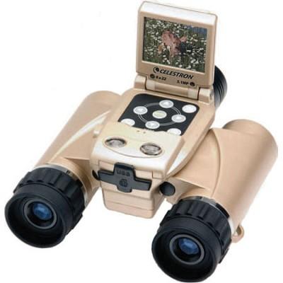 VistaPix 8x22 Binocular with Built-in 3.1 Megapixel Digital Camera