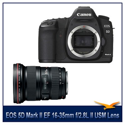EOS 5D Mark II 21.1 Megapixel Digital Camera w/ 16-35mm II