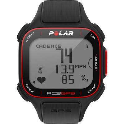 RC3 Bike GPS with Heart Rate Monitor - Black (90048179)