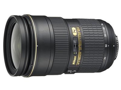 AF-S NIKKOR 24-70mm f/2.8G ED Lens,  (Imported)