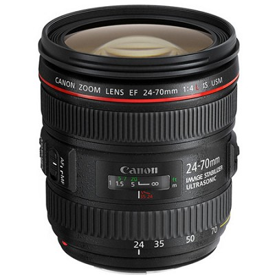 EF 24-70mm F/4L IS USM Standard Zoom Lens